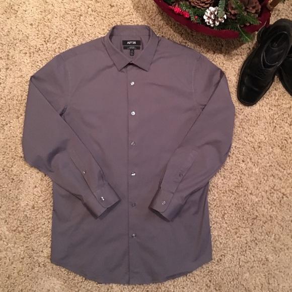 Men's Apt 9 Dress Shirt ✨EUC✨